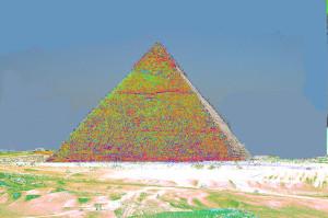 Les pyramides conservent la mémoire de l'histoire de l'homme